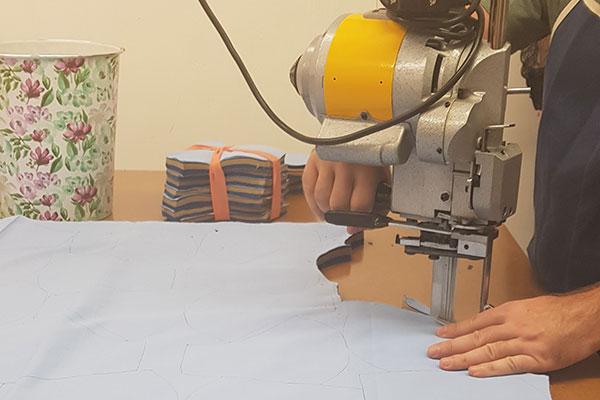 Fabric cutting in London